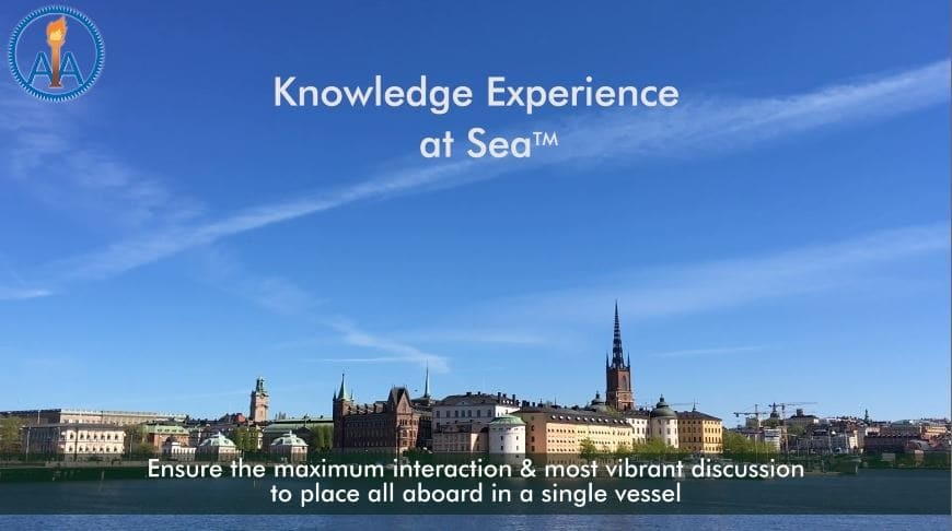 Advanced Materials Congress, Knowledge Experience at Sea in Stockholm, Sweden