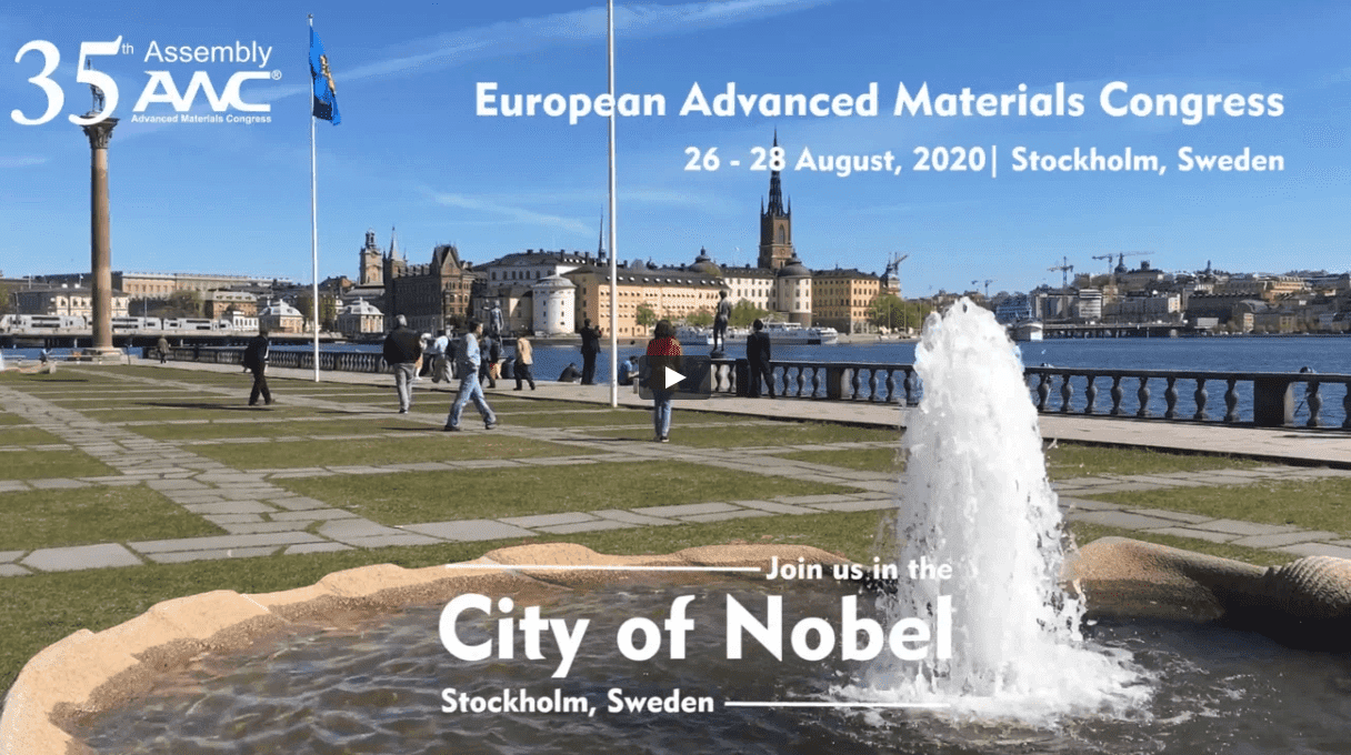 Join 35th Assembly of AMC, European Advanced Materials Congress (EAMC 20)