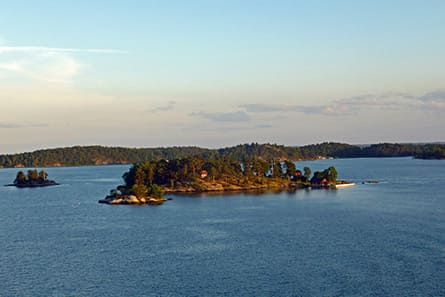 Cruise between Stockholm & Helsinki at the Baltic Sea