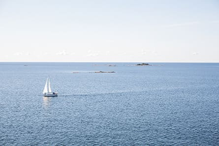 Beautiful View of the Baltic sea