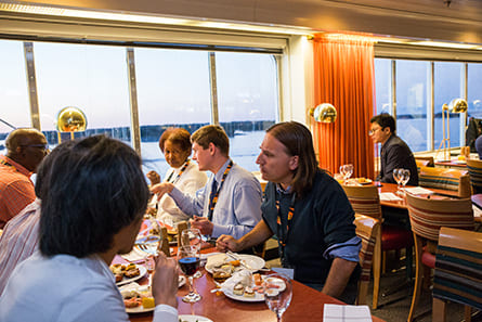 Global Cultural exchange on the cruise